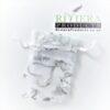 Hearts White/Silver Organza Bags 7x9CM x20 Bags