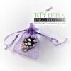 Luxury Plain Lilac Lavender Organza Bags 5x7CM x50 Bags