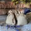 7x9cm Natural Hessian Lavender Filled Bags (750 Bags)