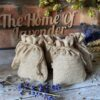 5 Bags of 7x9cm Natural Hessian Lavender Filled Bags
